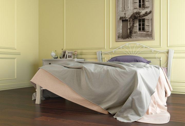 Кровать Фортуна 4 Лайт белый-белый ГЗМИ