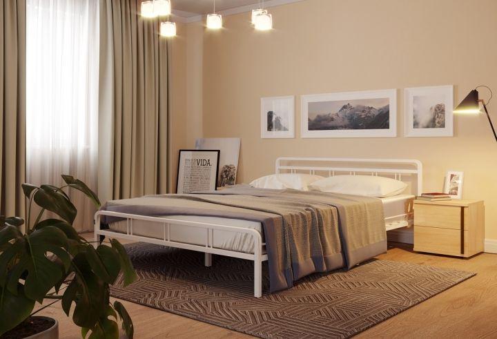 Кровать Леон белый-белый ГЗМИ