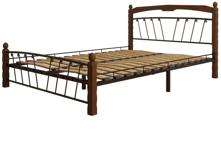 Кровать Муза 1 черный-махагон ГЗМИ
