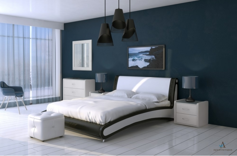 Кровать Помпиду Архитектория