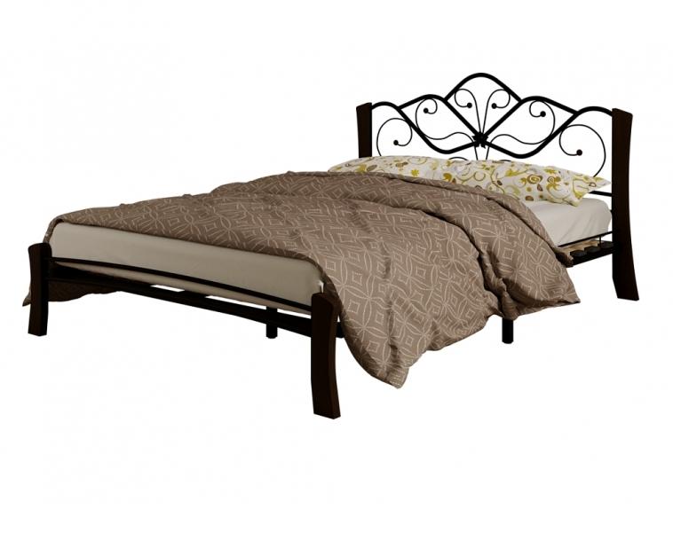 Кровать Венера 4 Лайт черный-шоколад ГЗМИ