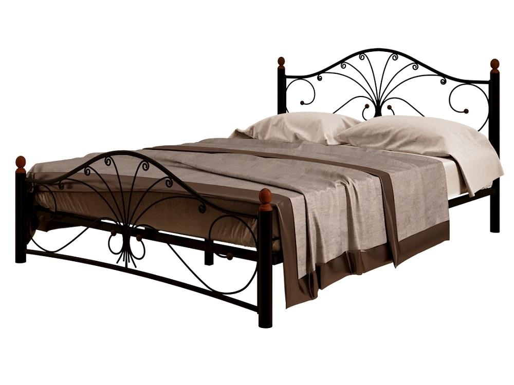Кровать Фортуна 2 черный-черный ГЗМИ