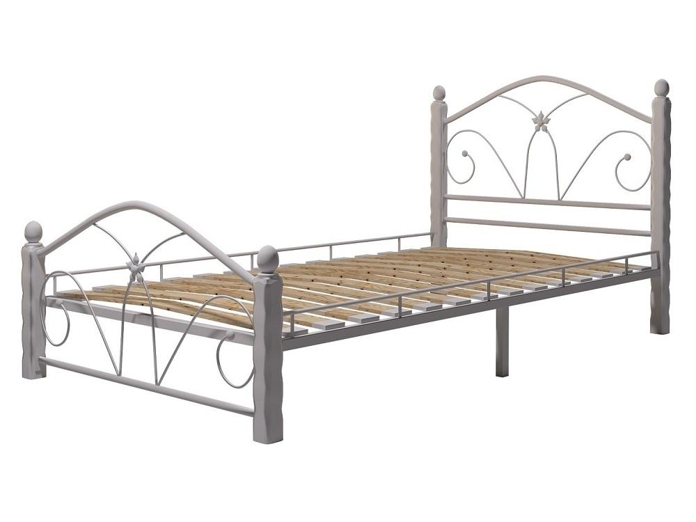 Кровать Селена 1 белый-белый ГЗМИ