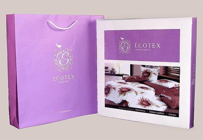 Постельное белье Гармоника Кардинал Ecotex