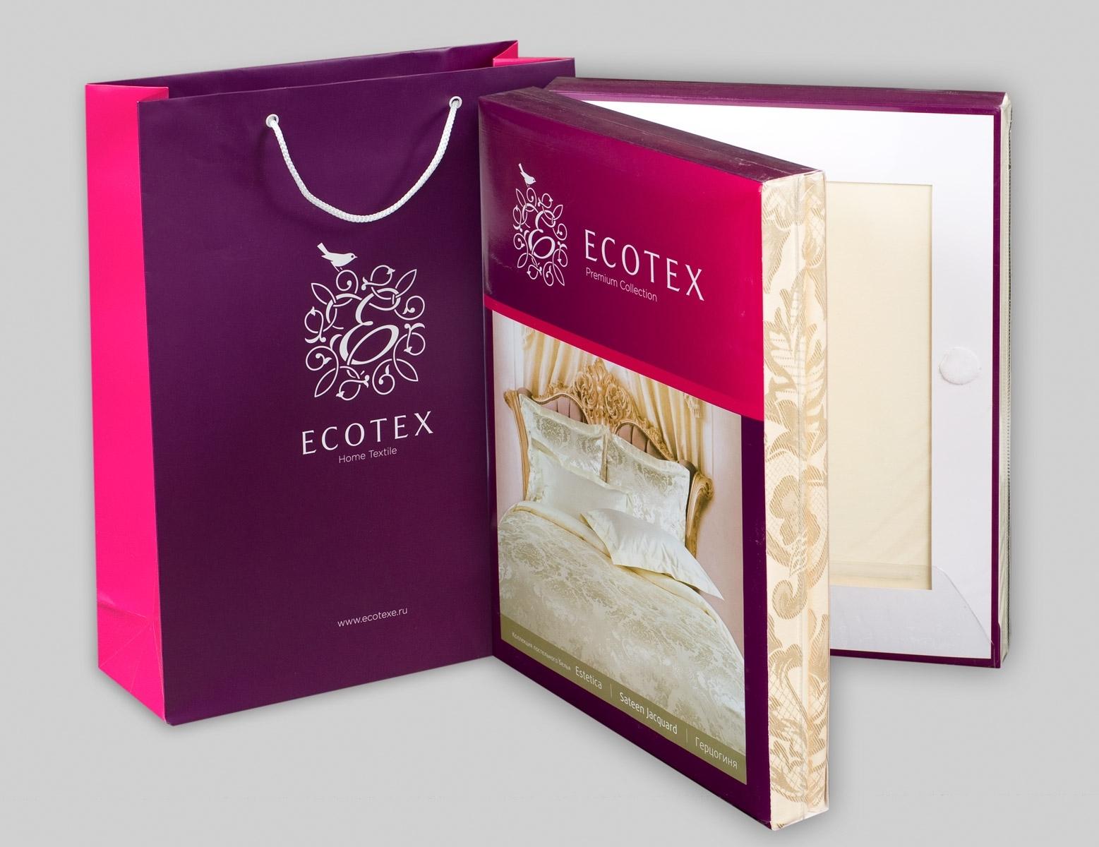 Постельное белье Эстетика Флокатти Ecotex